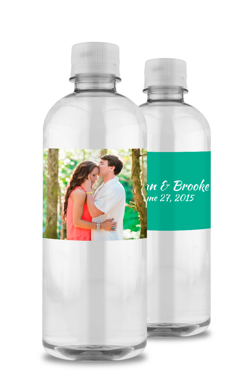 Custom Bottled Water for Weddings | Personalized Bottles of Water